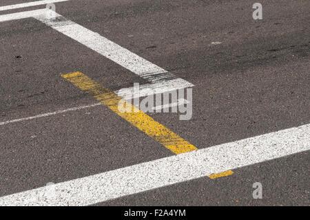 Pole Position at the Monaco GP Formula 1 race track, Monaco, France. - Stock Image