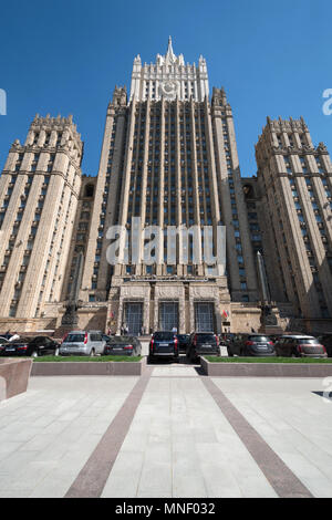 Ministry of Foreign Affairs of the Russian Federation - Stock Image