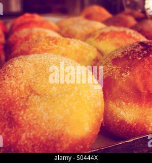 Jam Doughnuts - Stock Image