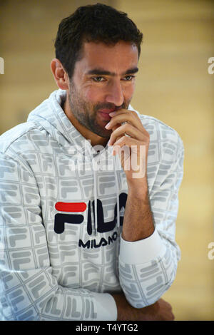 Attendees during the UNICEF Kid Power during Miami Open 2019 at Hard Rock Stadium in Miami Gardens, Florida  Featuring: Marin Cilic Where: Miami Gardens, Florida, United States When: 19 Mar 2019 Credit: Johnny Louis/WENN.com - Stock Image