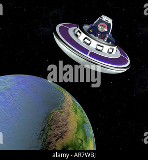 alien - Stock Image