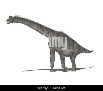 dinosaur Brachiosaurus - Stock Image