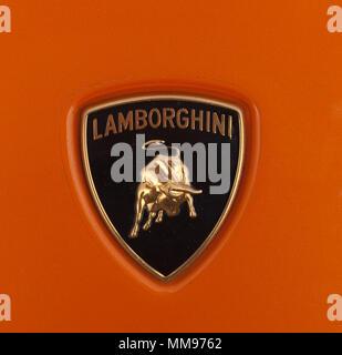Lamborghini Car marque - Stock Image