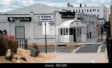 The Stone Pony music venue and bar in Asbury park, new Jesrsey, USA. shot from the front of the premises and showing the main entrance - Stock Image