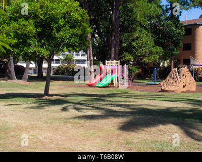 Childrens Playground At Surfers Paradise - Stock Image