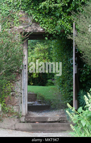 Gateway to the Garden - Stock Image
