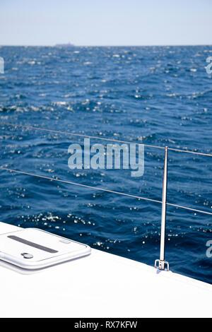 Catamaran at Sea - Stock Image