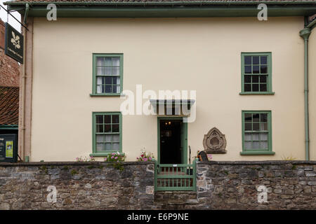 Coleridge Cottage in Nether Stowey, Somerset. Here STC lived for just three years, but they were his most productive. - Stock Image
