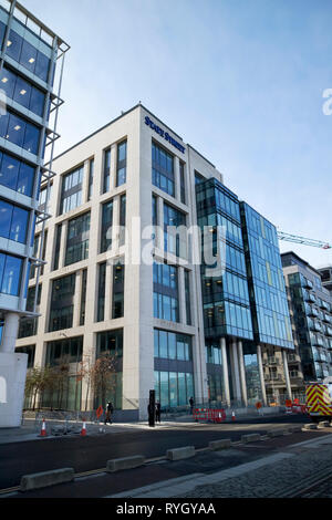 state street corporation international ireland offices and jp morgan offices Dublin Republic of Ireland Europe - Stock Image