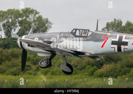 Hispano HA-1112-M1L Buchon RIAT 2010 - Stock Image
