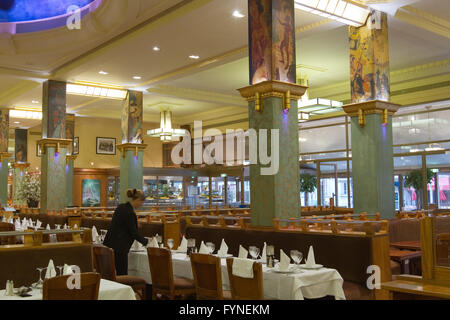 La Coupole restaurant in Montparnasse Paris France - Stock Image