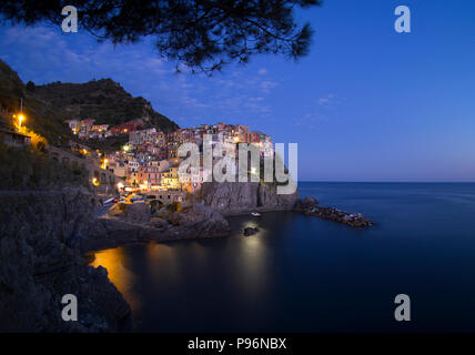 Evening Manarola - Stock Image