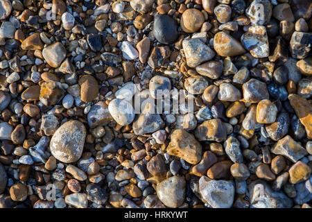 Beach pebbles - Stock Image