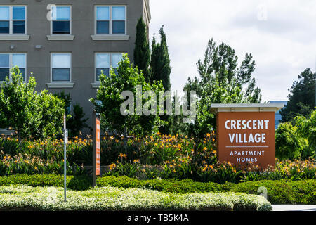 in the Silicon Valley California USA - Stock Image
