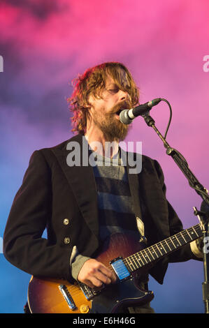 Portsmouth, Hampshire, UK. 23rd August, 2014. Victorious Festival - Saturday, Southsea, Hampshire, England.  Johnny - Stock Image