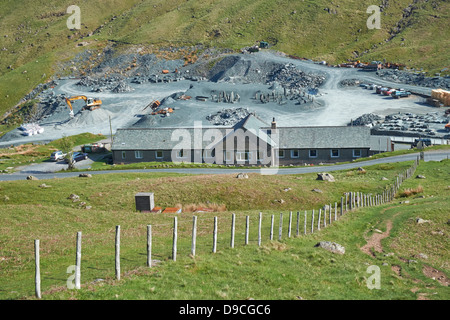 Honister Slate Mine in the Lake District - Stock Image
