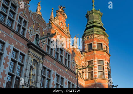 Grand Arsenal Gdańsk Poland - Stock Image