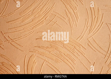 Textured wallpaper showing the texture and pattern - Stock Image