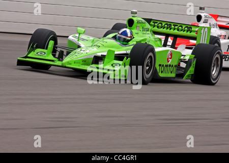 Newton IA :  June 21st, 2009, IRL IndyCar Iowa Corn 250 - Stock Image