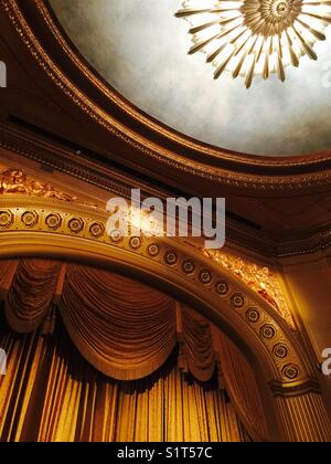 Stage at San Francisco Opera House - Stock Image