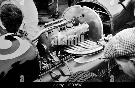 1948 Maserati 4CLT Motor Jersey Road Race - Stock Image