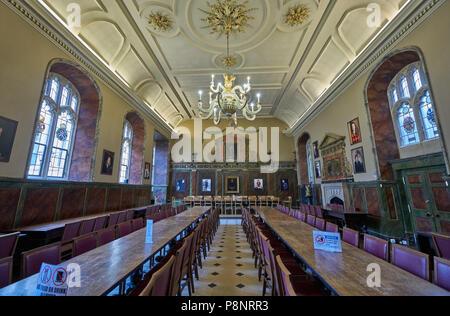 trinity college oxford  oxford college  hall - Stock Image