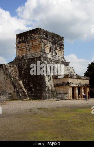 Entrance to the Great Ballcourt, Juego de Pelota, Chichen Itza, Yucatan Peninsular, Mexico - Stock Image
