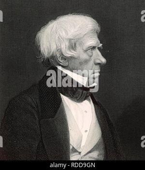 HENRY BROUGHAM (1778-1868) British Whig politician - Stock Image