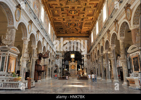 italy, rome, church of santa maria in ara coeli - Stock Image