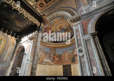 church of san nicola in carcere, rome, italy - Stock Image