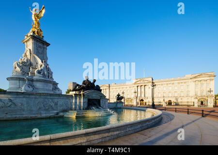 Buckingham Palace, Westminster, London, England, UK - Stock Image