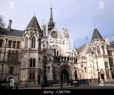 Royal Courts of Justice London - Stock Image