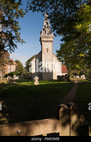 The Church of St Leonard South Stoke West Sussex - Stock Image