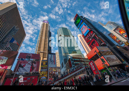 New York City Street Scene - Stock Image