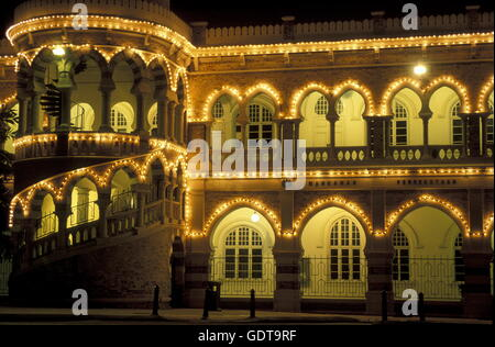 The Sultan Abdul Samad Palace at the Merdeka Square  in the city of  Kuala Lumpur in Malaysia in southeastasia. - Stock Image