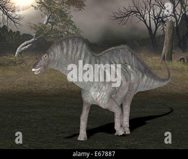 Dinosaurier Amargasaurus / dinosaur Amargasaurus - Stock Image
