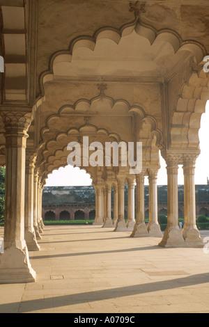 Diwan i Khas, Agra Fort, Rajasthan, India - Stock Image