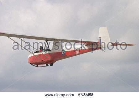 Slingsby T 31B Tandem Tutor ex RAF WT903 Cadet TX Mk 3 - Stock Image