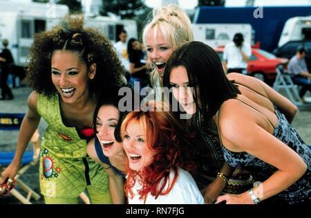 SPICE WORLD, MELANIE BROWN, MELANIE CHISHOLM, GERI HALLIWELL, EMMA BUNTON , VICTORIA ADAMS, 1997 - Stock Image
