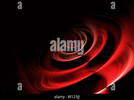 abstract fractal background a computer-generated illustration, texture - Stock Image