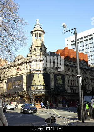 Shaftsbury Theatre, Shaftsbury Ave, London opened in 1911 on Boxing day - Stock Image