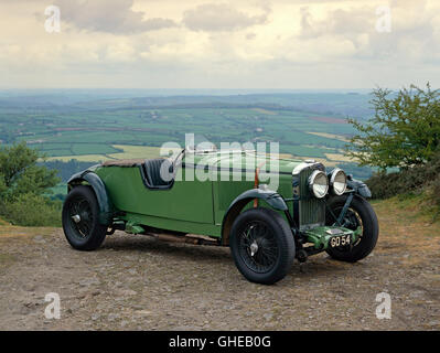 1931 Talbot 105 3 0 litre racing team car Reg GO54 Country of origin United Kingdom - Stock Image