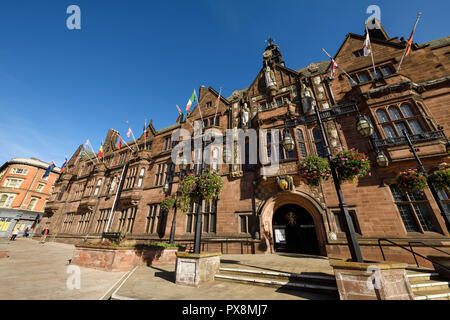 The facade of Coventry City Council House on Earl Street in Coventry city centre UK - Stock Image
