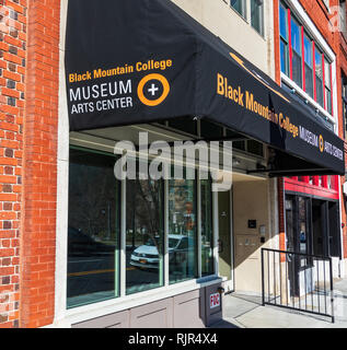 ASHEVILLE, NC, USA-2/3/19:  The Black Mountain College Museum and Arts Center is dedicated to preserving the history and legacy of the college. - Stock Image