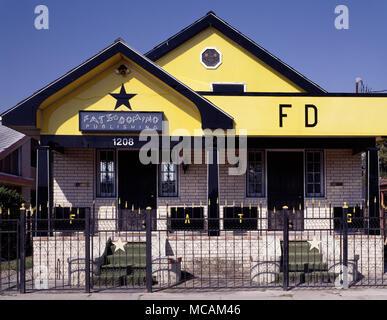 Fats Domino House - Stock Image