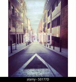 Barcelona street - Stock Image