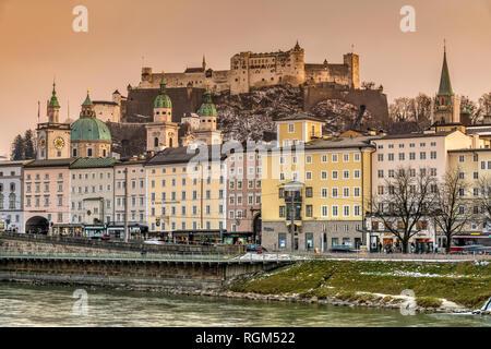 City skyline, Salzburg, Austria - Stock Image