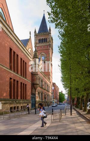 Minshull Street Manchester Crown Court - Stock Image