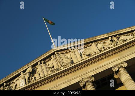 City of Nottingham town hall. UK. - Stock Image