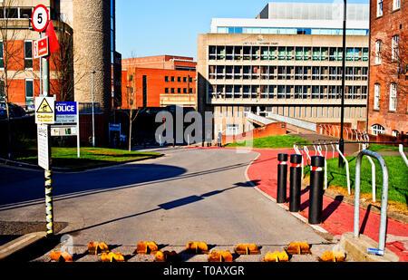 Sheffield Magistrates Court, Sheffield, England - Stock Image